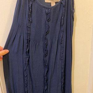 Navy lightweight summer dress